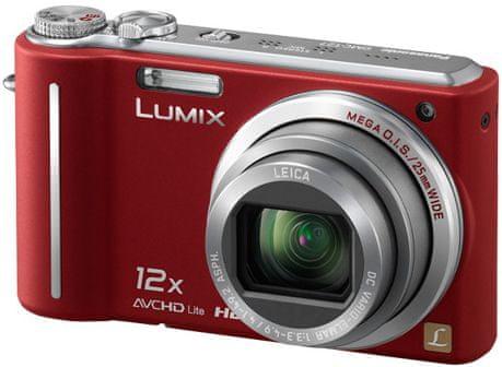 Panasonic Lumix DMC-TZ7 Red