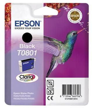 Epson Kartuša T0801, črna