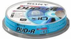Sony DVD+R medij 4,7GB, 10 kos. (10DPR120BSP)