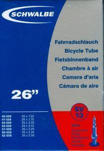 """Schwalbe 26"""" Kerékpár szelep, SV13, 2 db"""