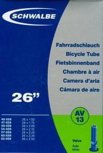 """Schwalbe 28"""" Kerékpár szelep, AUTO, 2db"""
