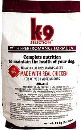 K-9 Selection Hi Performance Kutyaeledel, 20 kg