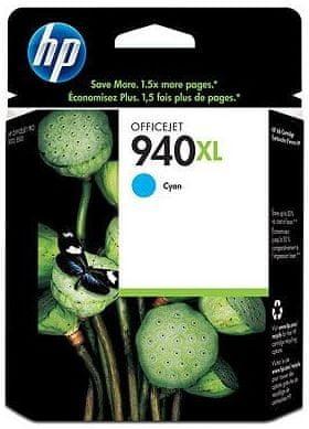 HP Kartuša C4907AEXL Cyan 1400 strani #940XL