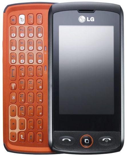 LG GW520 Etna Black Orange