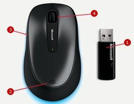 9adb71edc95 Microsoft Wireless Mouse 2000 - Alternativy | MALL.CZ