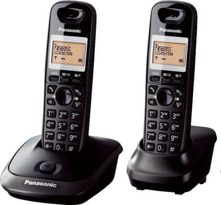 Panasonic KX TG2512FXT DECT - zánovní