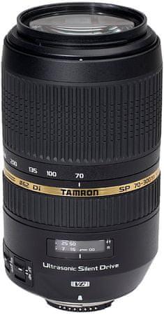 Tamron objektiv 70-300 mm f/4-5,6 SP Di VC USD za Nikon