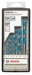 Bosch 7-dijelni set višenamjenskih svrdla Robust Line CYL-9, Multi Construction (2607010543)