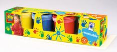 SES farby do malowania palcami 4 x 150ml