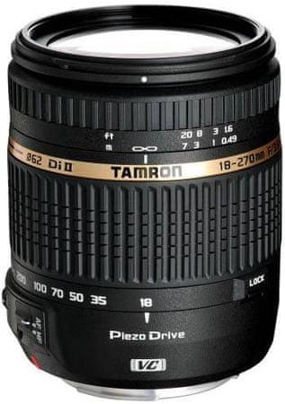 Tamron objektiv AF 18-270 mm f/3,5-6,3 Di II VC PZD, za Nikon