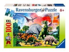 Ravensburger Dinoszaurusz Puzzle 100XXL
