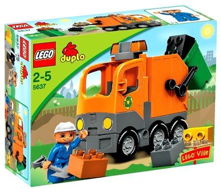 Lego Duplo 5637 Smetiarske Auto Mallsk