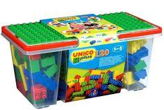 Unico Box z klockami - 120 elementów