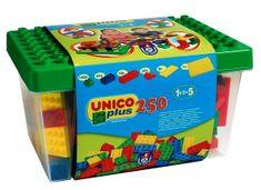 Unico Box z klockami - 250 elementów