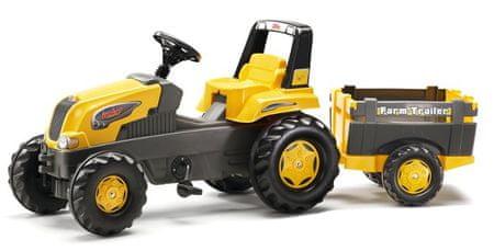 Rolly Toys Pedálos Farm traktor pótkocsival