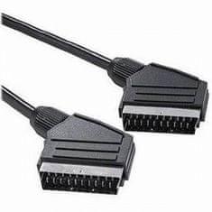 PremiumCord kabel SCART 2 m, M/M