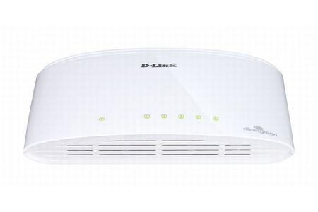 D-LINK Asztali Switch 5-Port Gigabit Ethernet DGS-1005D