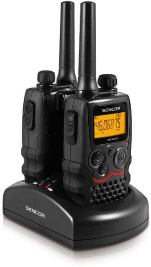 SENCOR SMR 600 TWIN - sada 2 vysielačiek