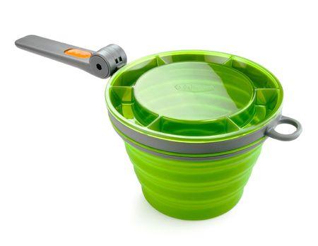 Gsi kubek Collapsible Fairshare Mug Green