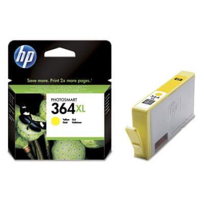 HP 364 XL Tintapatron (CB323EE), Sárga