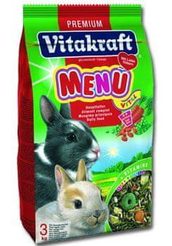 Vitakraft hrana za kunce Menu Vital Aroma Soft, 3 kg
