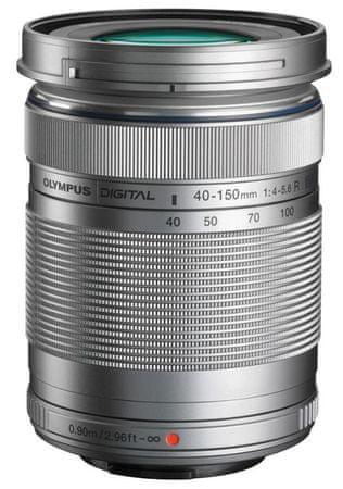 Olympus 40-150 mm M. ZUIKO DIGITAL ED f/4.0-5.6 R Silver