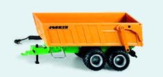 SIKU Control - Přívěs s tandemovou nápravou, s baterií pro RC i infračerv. příjem 1:32