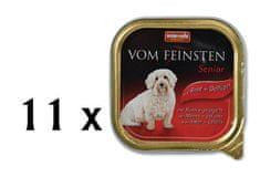 Animonda Vom Feinsten Senior Kutyakonzerv, marha és szárnyas, 11 x 150 g
