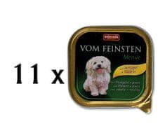Animonda mokra hrana za pse Vom Feinstein, perutnina + testenine, 11 x 150 g