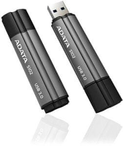 A-Data pendrive Superior S102 Pro 32GB, USB 3.0, szary