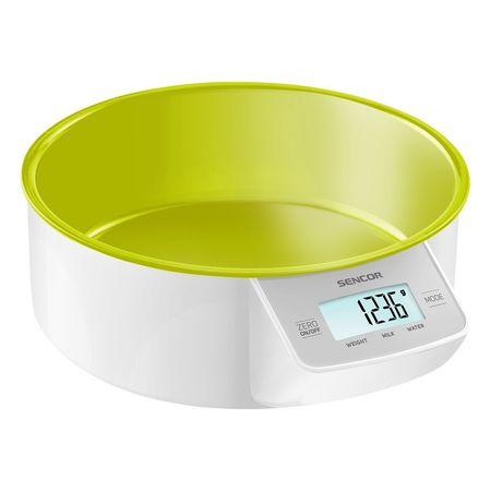 SENCOR SKS 4004, zelená digitálna kuchynská váha