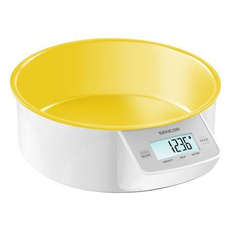 SENCOR kuhinjska tehtnica SKS 4004GR, rumena
