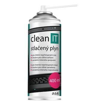 CLEAN IT cl-102 stlačený vzduch, 400 ml