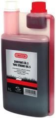 Oregon 2T polosyntetický olej s odměrkou 1l