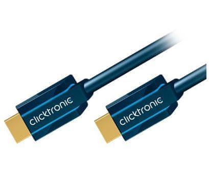 ClickTronic Clicktronic HQ OFC HDMI-HDMI kábel ethernet, 1.4b, 5m, M / M