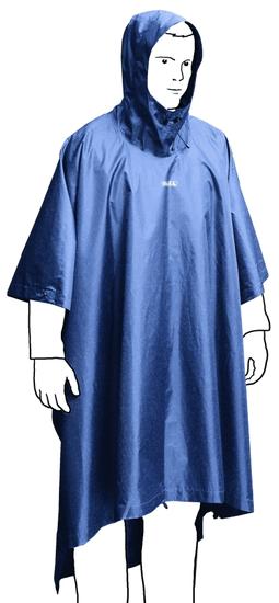 Boll Bivy Poncho M dark blue