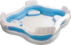 Intex Bazén rodinný s křesílky - rozbaleno