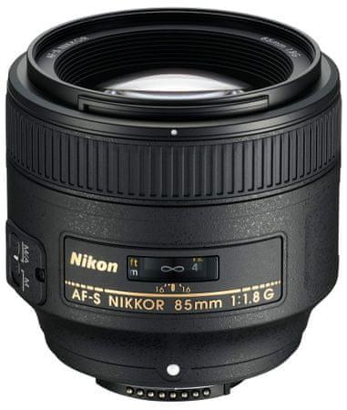 Nikon objektiv AF-S NIKKOR 85 mm f/1,8 G
