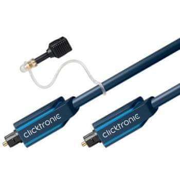 ClickTronic HQ optický kábel Toslink, 3m