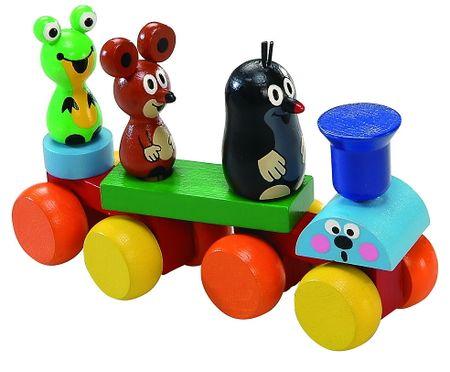 DETOA Fa vonat kisvakonddal és barátaival