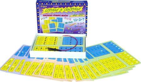 SVOBODA Sčítání a odčítání - elektrická výuková hračka