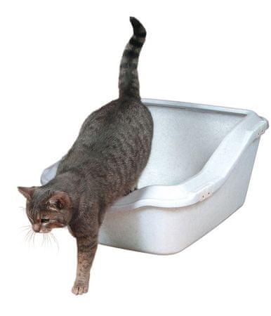 Trixie WC Kuweta z podwyższoną ścianą rozm. M
