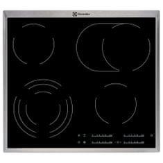 Electrolux steklokeramična kuhalna plošča EHF46547XK