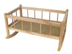 Teddies Kolébka dřevěná velká 50cm