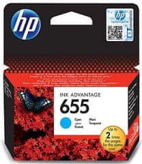 HP náplň č.655 - Azurová (CZ110AE)