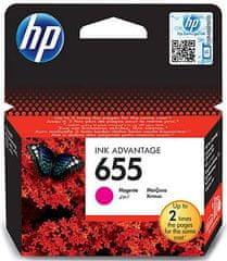 HP 655 tintapatron, Bíbor (CZ111AE)