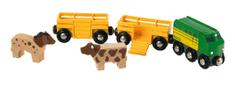 Brio Pociąg do transportu zwierząt 33404