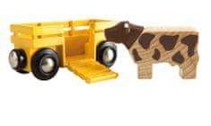 Brio vagon s kravico