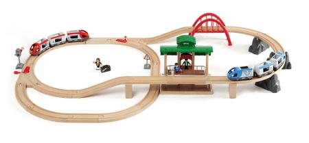 Brio veliki železniški set