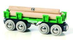 Brio tovorni vagon za les